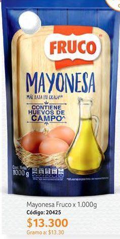 Oferta de Mayonesa Fruco por $13300