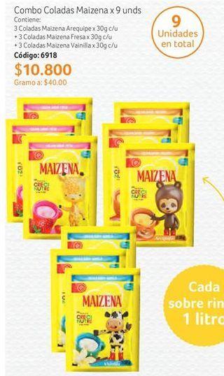 Oferta de Bebidas de sabores Maizena por $10800
