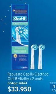 Oferta de Cepillo de dientes Oral B por $33950