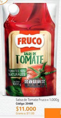Oferta de Salsa de tomate Fruco por $11000