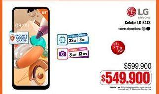 Oferta de Celulares LG por $549900