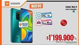 Oferta de Celulares Xiaomi por $1199900