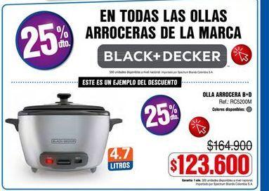 Oferta de Arrocera Black & Decker por $123600