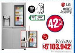 Oferta de Nevera LG por $5103942