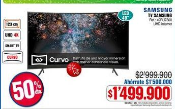 Oferta de Smart tv Samsung por $1499900