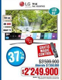 Oferta de Smart tv LG por $2249900