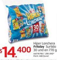Oferta de Pasabocas Frito Lay por $14400