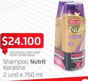 Oferta de Shampoo Nutrit por $24100