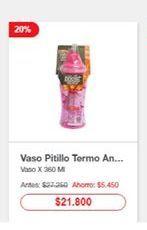 Oferta de Vasos por $21800