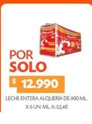 Oferta de Leche entera Alquería por $12990