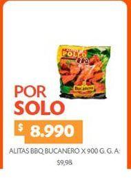 Oferta de Alas de pollo Bucanero por $8990