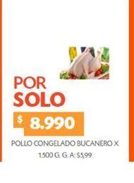 Oferta de Pollo Bucanero por $8990
