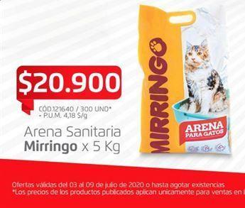 Oferta de Arena para gatos por $20900