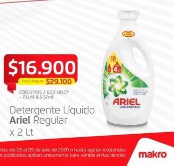 Oferta de Detergente líquido Ariel por $16900