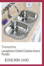 Oferta de Lavaplatos Tramontina por $358900