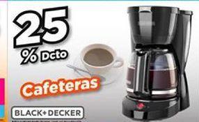 Oferta de Cafetera Black & Decker por