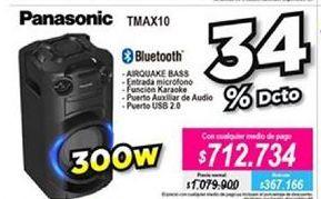 Oferta de Parlantes multimedia Panasonic por $712734