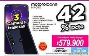 Oferta de Celular libre Motorola por $579900