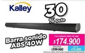 Oferta de Barra de sonido Kalley por $174900