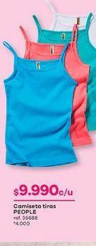 Oferta de Blusa tirantes por $9990