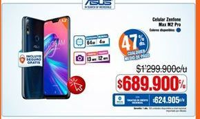 Oferta de Celulares Asus por $689900