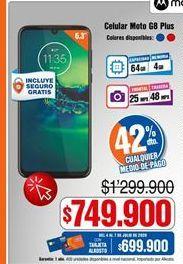 Oferta de Celulares Motorola por $749900
