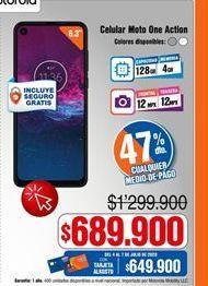 Oferta de Celulares Motorola por $689900