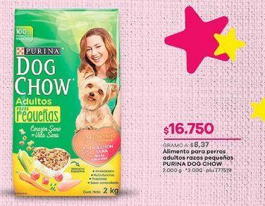 Oferta de Comida para perros Dog chow por $16750