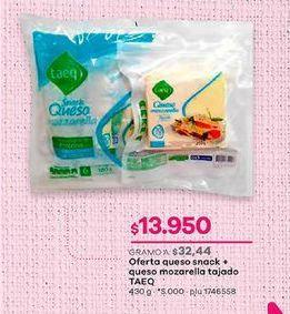 Oferta de Queso Taeq por $13950