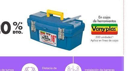 Oferta de Caja de herramientas Vanyplas por