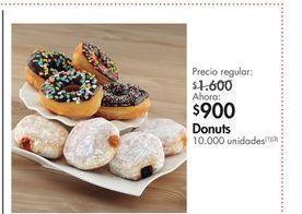 Oferta de Donuts por $900