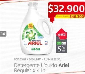 Oferta de Detergente líquido Ariel por $32900