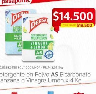 Oferta de Detergente As por $14500