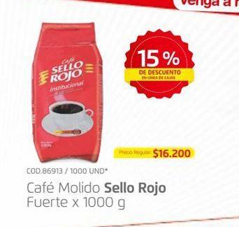 Oferta de Café molido Sello Rojo por