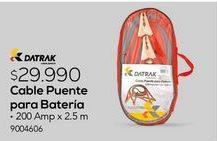 Oferta de Cable de arranque Datrak por $29990
