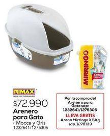 Oferta de Arenero Rimax por $72990