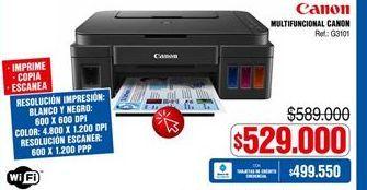 Oferta de Impresora multifuncional Canon por $529000
