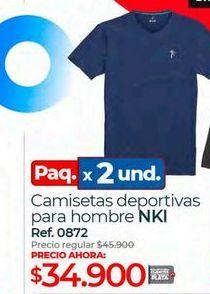 Oferta de Camiseta de deporte por $34900