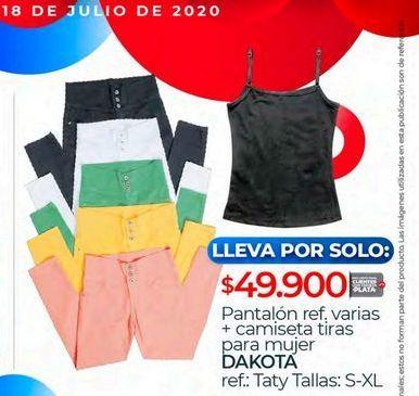 Oferta de Pantalones mujer Dakota por $49900
