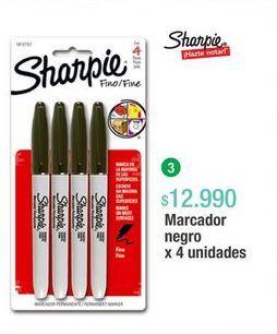 Oferta de Marcadores permanentes Sharpie por $12990