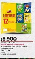 Oferta de Snacks Frito Lay por $5900