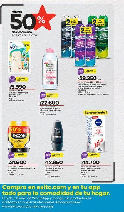Oferta de Desodorante roll on Dove por $13950