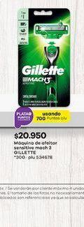 Oferta de Máquina de afeitar Gillette por $20950