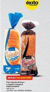Oferta de Pan tajado frescampo por
