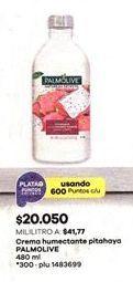 Oferta de Crema hidratante Palmolive por $20050