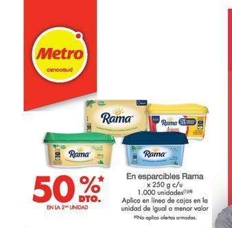 Oferta de Margarina Rama por
