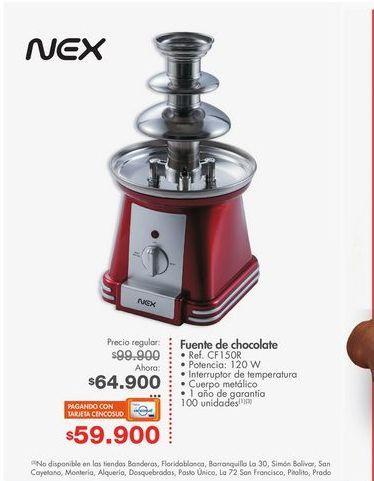 Oferta de Fuente de chocolate Nex por $64900