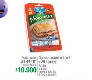 Oferta de Mozzarella Alpina por $10990