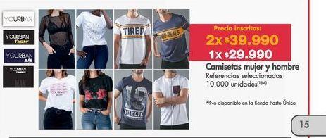 Oferta de Camiseta Yourban por $29990