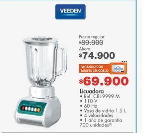 Oferta de Licuadora Veeden por $74900